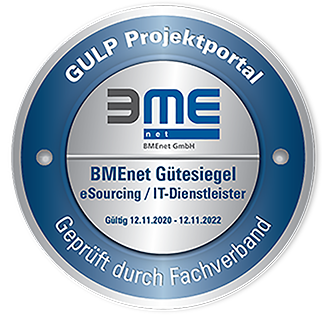 BMEnet Gütesiegel gültig: 12.11.2020 -12.11.2022